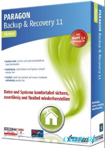Paragon Backup & Recovery 11 (2012)